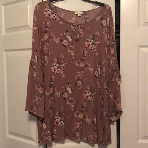 Tops - Floral print tunic
